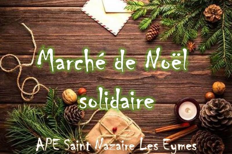 Photo de la news Marché de Noël 2020 - Marché solidaire !